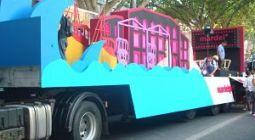 Carroza Mar del Plata - Fiesta de la Vendimia